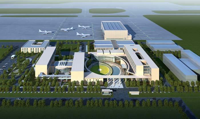 中国民用航空飞行校验中心基地迁建