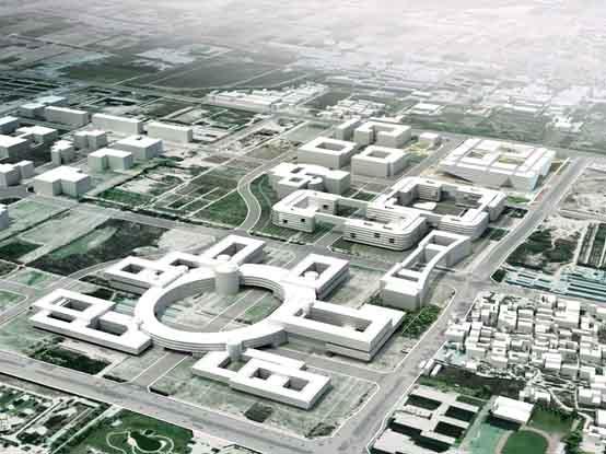 中关村软件园二期西区市政及绿化工程